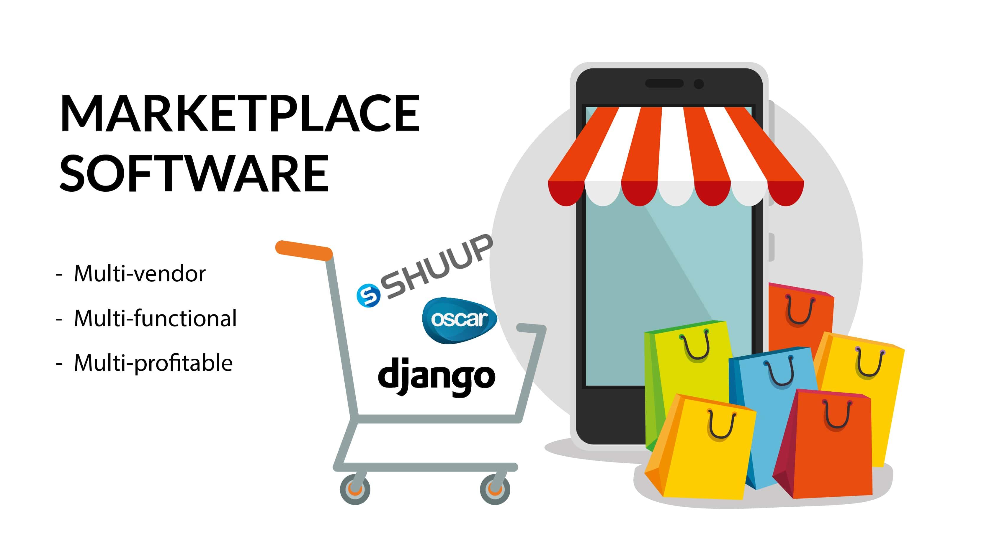 Marketplace software. Multi-vendor. Multi-functional. Multi-profitable.