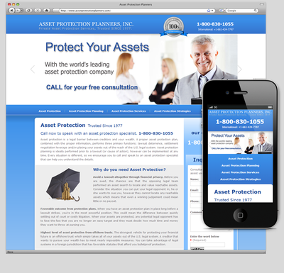 Asset Protection Planners, Inc.