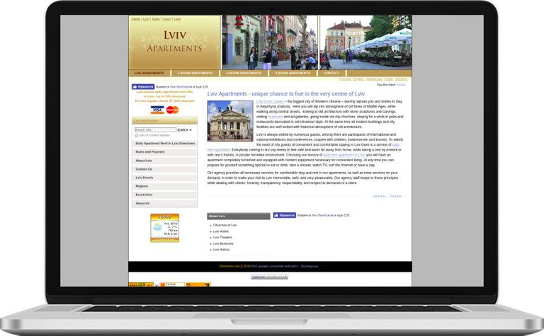 Lviv Apartments - Real Estate Plone Content Management Solution