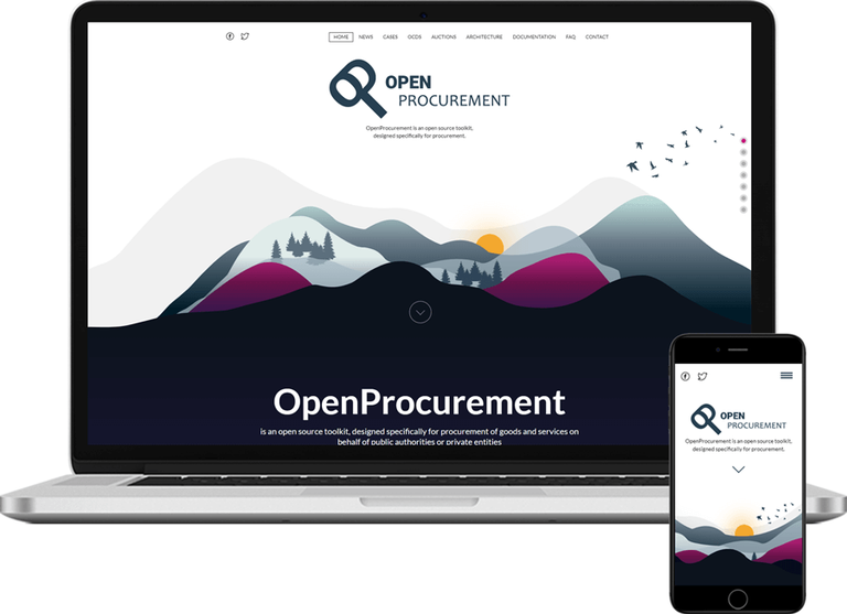 OpenProcurement.io homepage