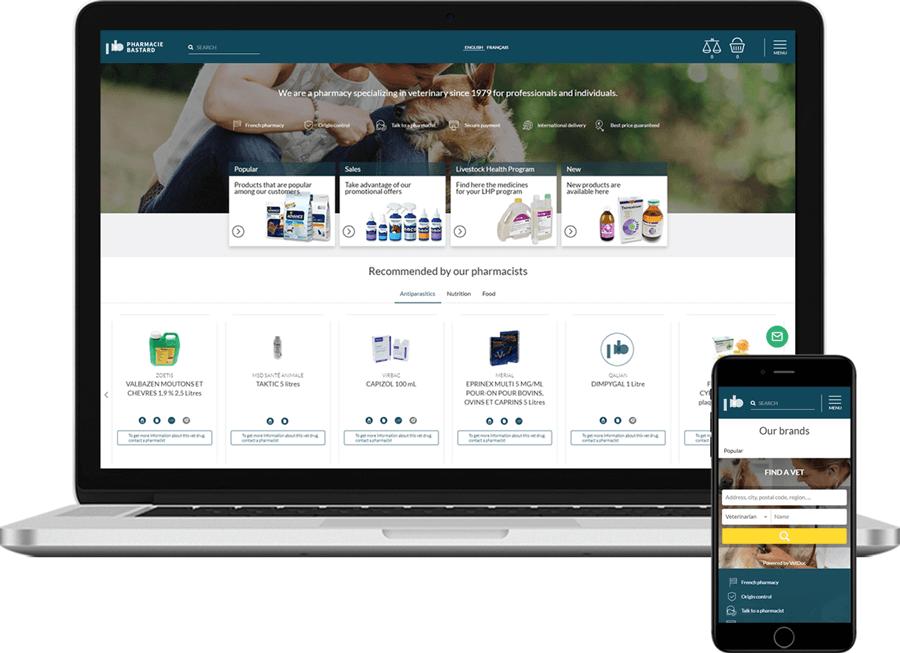 ecommerce PharmacieBastard