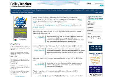 Policy Tracker