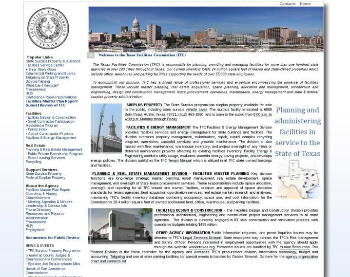 Texas Building and Procurement Commission
