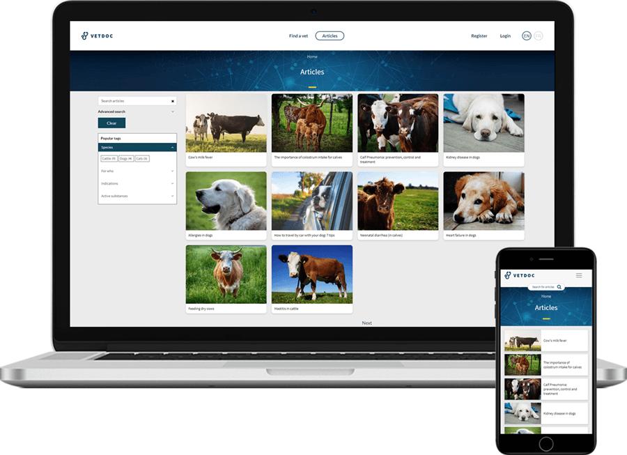 VetDoc homepage