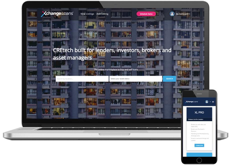 Xchange.Loans homepage