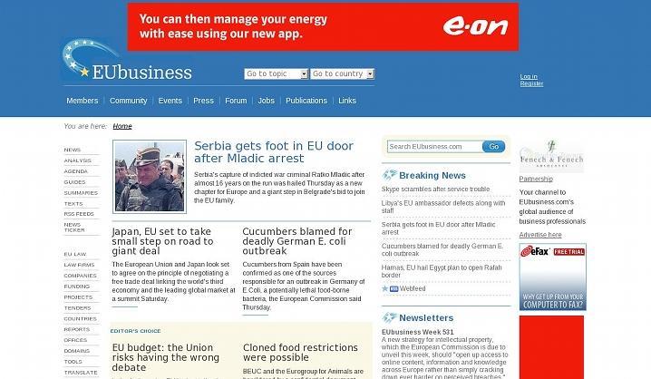 EUbusiness
