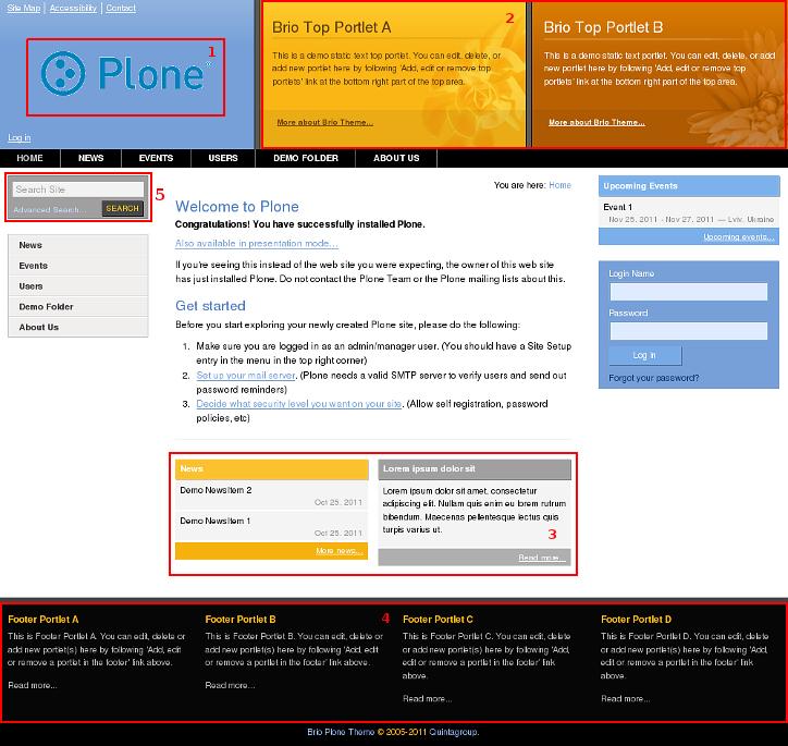 Brio Plone Theme